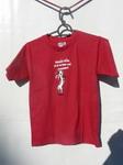 Dětské červené tričko