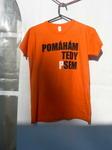 Dámské oranžové tričko