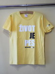 Dámské žluté tričko