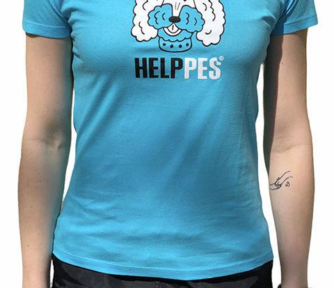 Dámské modré tričko