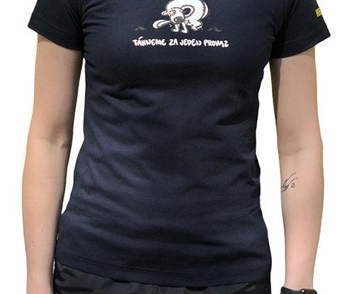 Dámské černé tričko