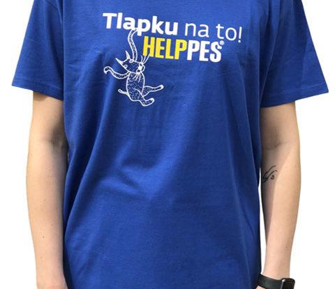 Pánské modré tričko