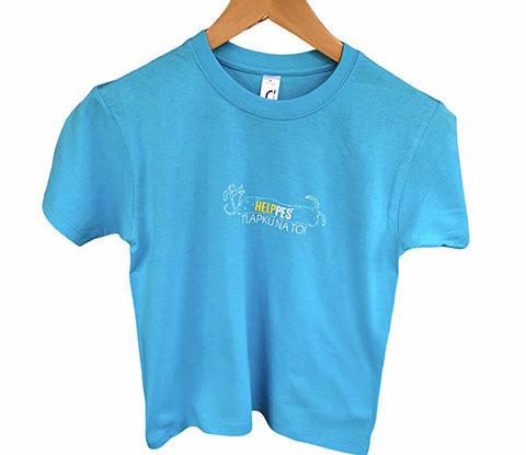 Dětské modré tričko