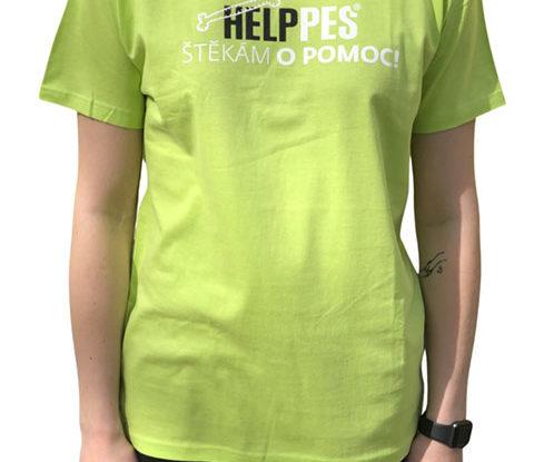 Pánské zelené tričko